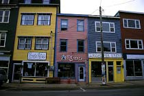 Die bunten Häuser von St.John's