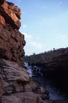 Der Bell Gorge Wasserfall