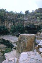 Oberhalb Twin Falls Gorge