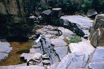 Die oberen Stufen von Twin Falls
