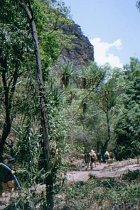 Auf den Weg zur Twin Falls Gorge