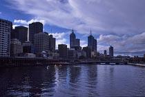 Melbourne und der Yarra River