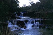 Twin Falls im Morgenlicht