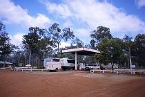 Tankstelle am Jardine River