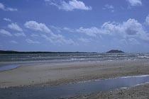 Blick zurück zu Restoration Island