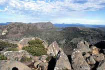 King Davids Peak, Barn Bluff und Cradle Mountain