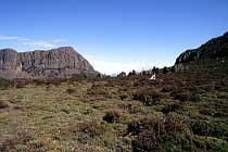 King Davids Peak und Barn Bluff