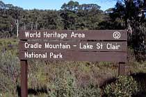 Nationalpark Schild