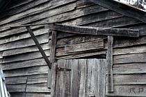 Eingang der Old Pelion Hut