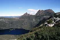 Lake Dove und Cradle Mountain