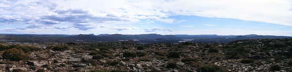Panorama Forty Lake Peak