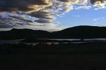 Sonnenuntergang am Lake Jindabyne