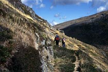 Entlang der Main Range in Richtung Mt. Kosciuszko