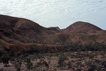 Hügellandschaft in der Nähe der Ormiston Schlucht