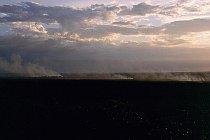 Buschfeuer kurz vor Darwin
